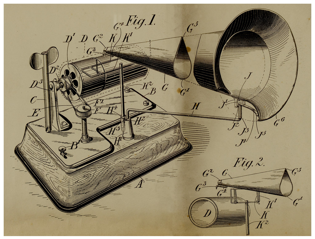 Patent An Idea >> Phonograph | On this day in 1878, Thomas Edison patented his… | Flickr