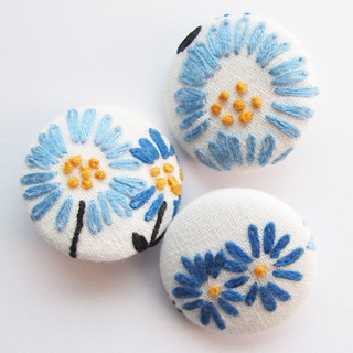 Embroidery Buttons | by michellepatterns