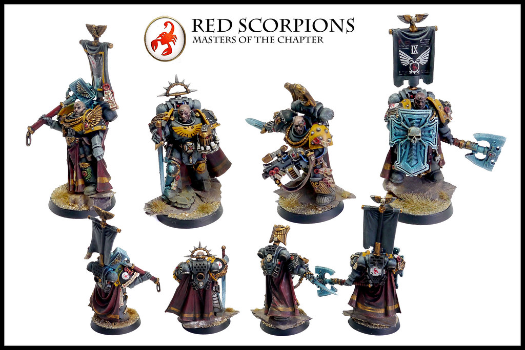 ... Red Scorpions Masters of the Chapter - by Relaxdesign Minis