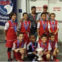 U11 Boys DV Mustang champion Regionals 2014