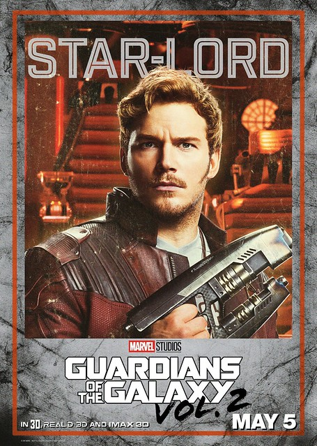 Guardians of the Galaxy Vol 2 (2017) poster Star-Lord