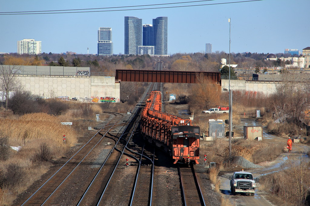 CN W900 CN Snider   A continuous welded rail train makes its…   Flickr