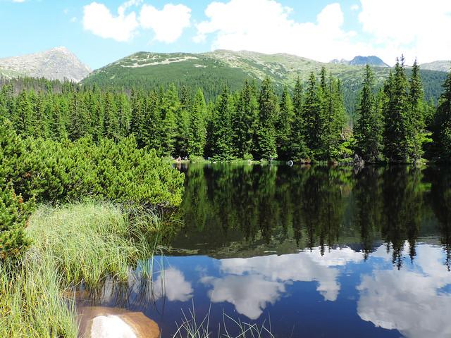 Alpine lakes: Jamské pleso, High Tatras, Slovakia