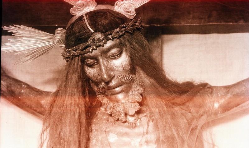 Cristo de las Aguas en los años 20. Foto Rodríguez.