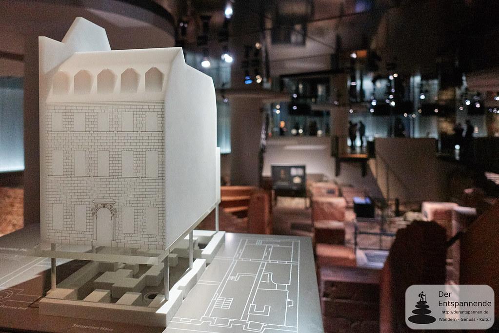 Rekonstruktion eines Hauses der Judengasse Frankfurts