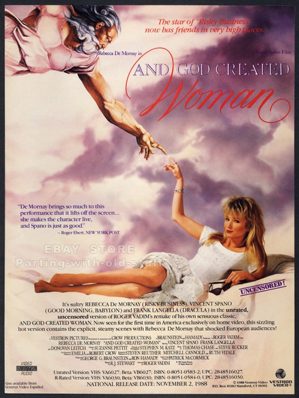 And God Created Woman - Poster 1