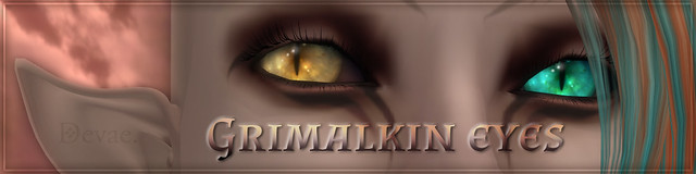 Grimalkin eyes, back at Devae.!