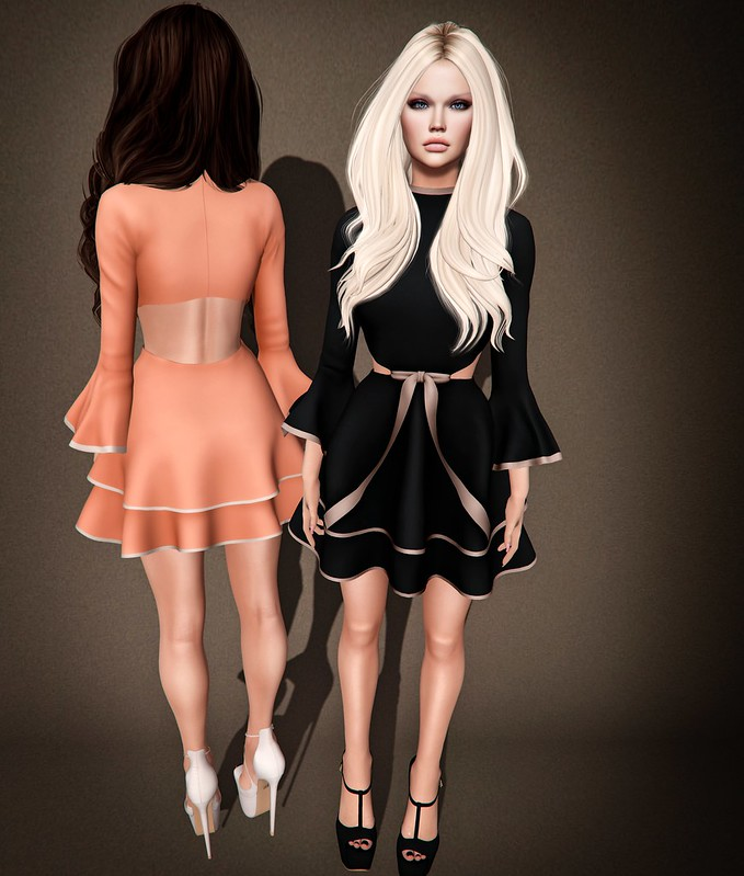 Jenna Dress @ Shiny Shabby.