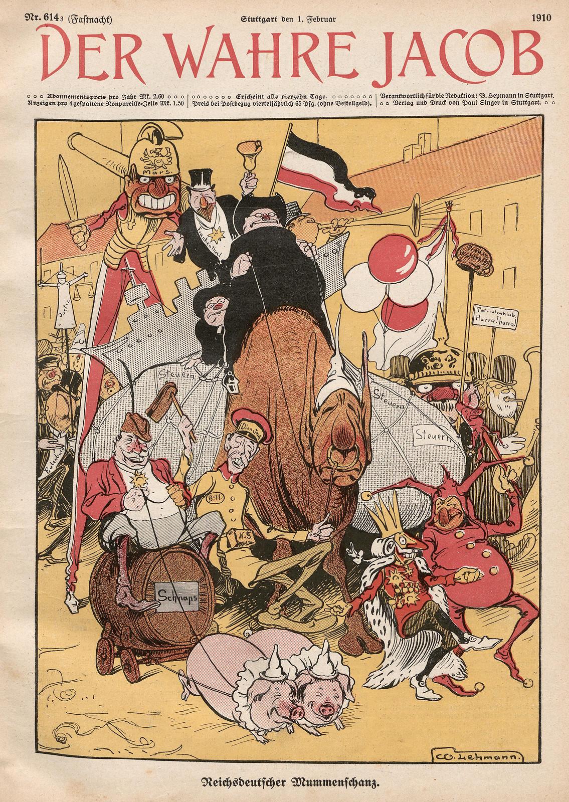 Willy Lehmann-Schramm -  Reichsdeutscher Mummenschaz, 1910