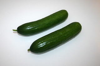 24 - Zutat Salatgurken / Ingredient cucumber