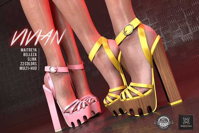 "Phedora for Fameshed Bday Round- ""Vivian"" heels + mystery gift!!"