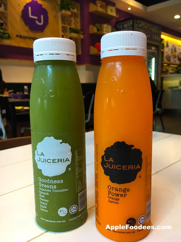 La Juiceria Superfoods at The Verve Shops - Cold Pressed Juices