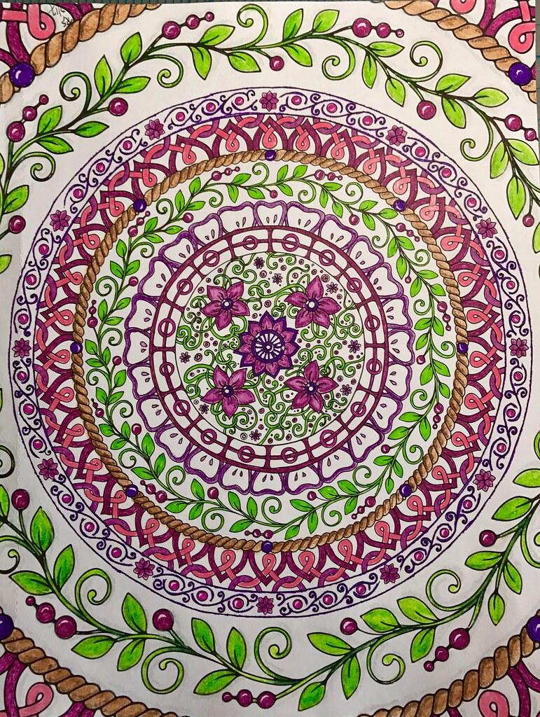 Color art mandala wonders -  Mandala Wonders 004 By Ronniesz