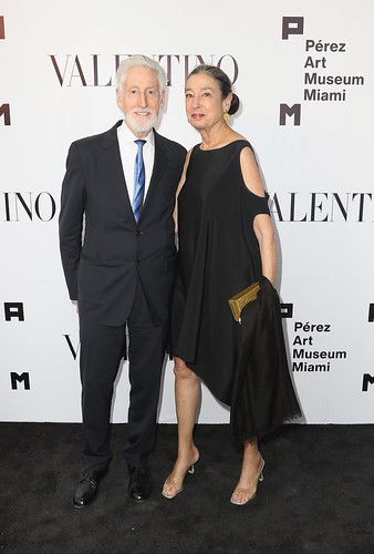 Fred Doner and Michele Oka Doner at PAMM Art Of The Party Presented By Valentino