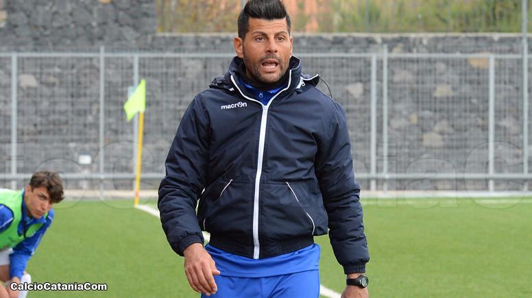 Mister Gaetano Bellia, allenatore della Berretti rossazzurra