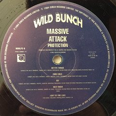 MASSIVE ATTACK:PROTECTION(LABEL SIDE-B)