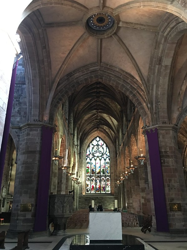 edinburgh 221 St. Gile's Cathedral, altar