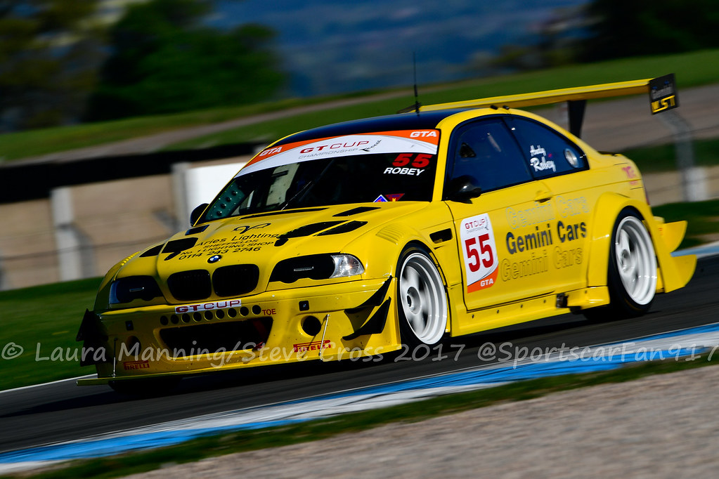 Geoff Steel Racing - Andy Robey - BMW M3 GTR (GT Cup Champ ...