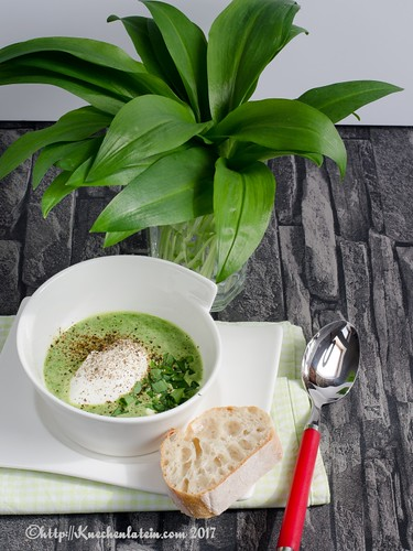 Watercress Soup with Poached Egg-2