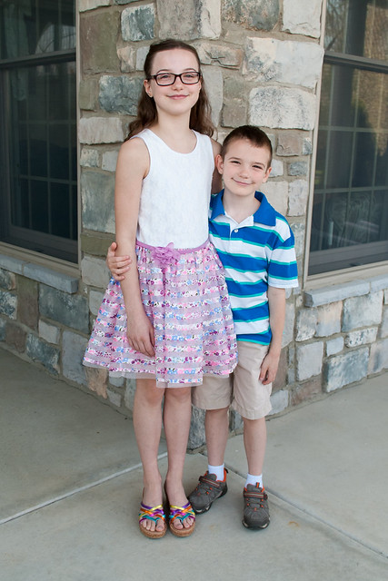 Easter Siblings