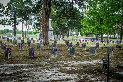 Stonewall Confederate Cemetery in Griffin