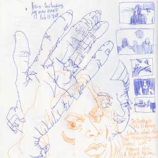 Sketchbook #103: When in doubt - draw hands :) | by apple-pine