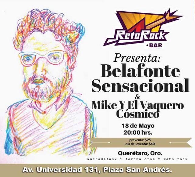 Belafonte Sensacional + Mike y el Vaquero Cósmico
