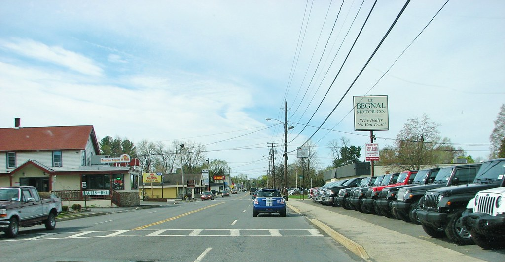 South on albany ave in april 2017 ulster ave changes to for Begnal motors used cars