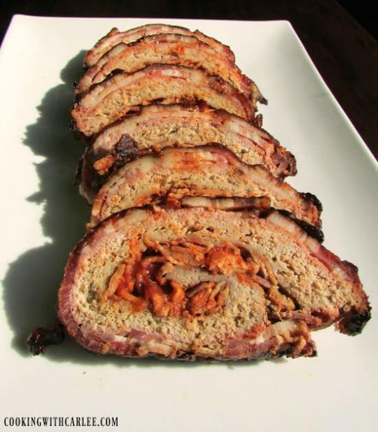 K.C.'s Award-Winning Turkey Bacon Explosion