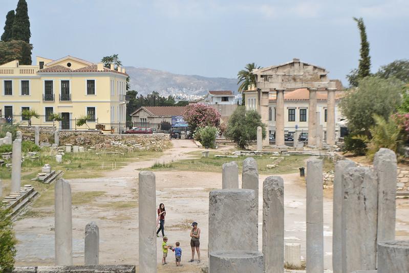 La más modesta ágora romana