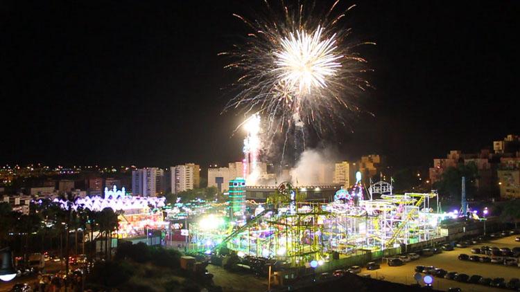 fuegos artificiales feria real 20163
