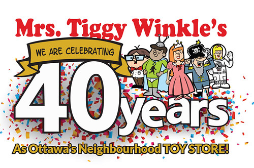 Mrs. Tiggy Winkle's Ottawa's neighbourhood toy store!