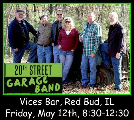 20th Street Garage Band 5-12-17