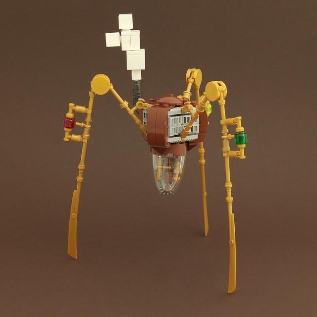 MinecraftMould - Steampunk Spider
