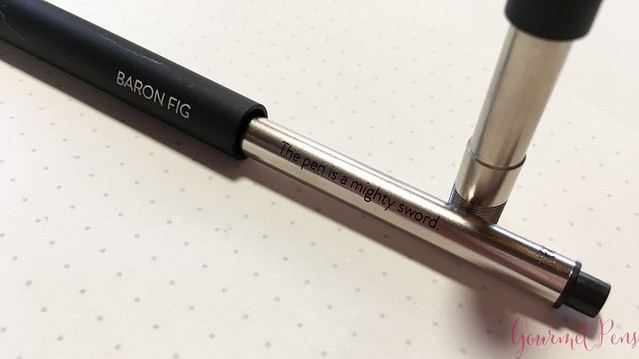 Review @BaronFig Confidant Notebook & Squire Rollerball Pens 35
