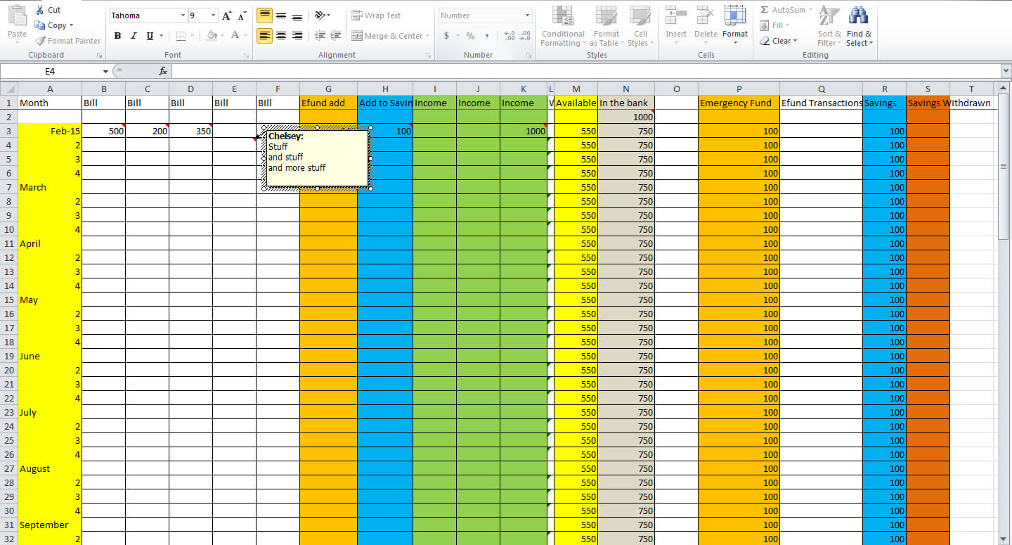 3 Essential Tips for Creating a Budget Spreadsheet - Tastefully ...