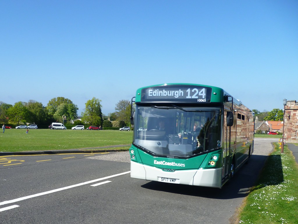 getting about east lothian by bus east coast buses 10065 flickr