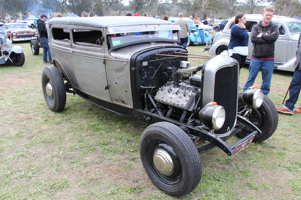 1930 Ford Model A Tudor Hot Rod | The Model A, built from 19… | Flickr