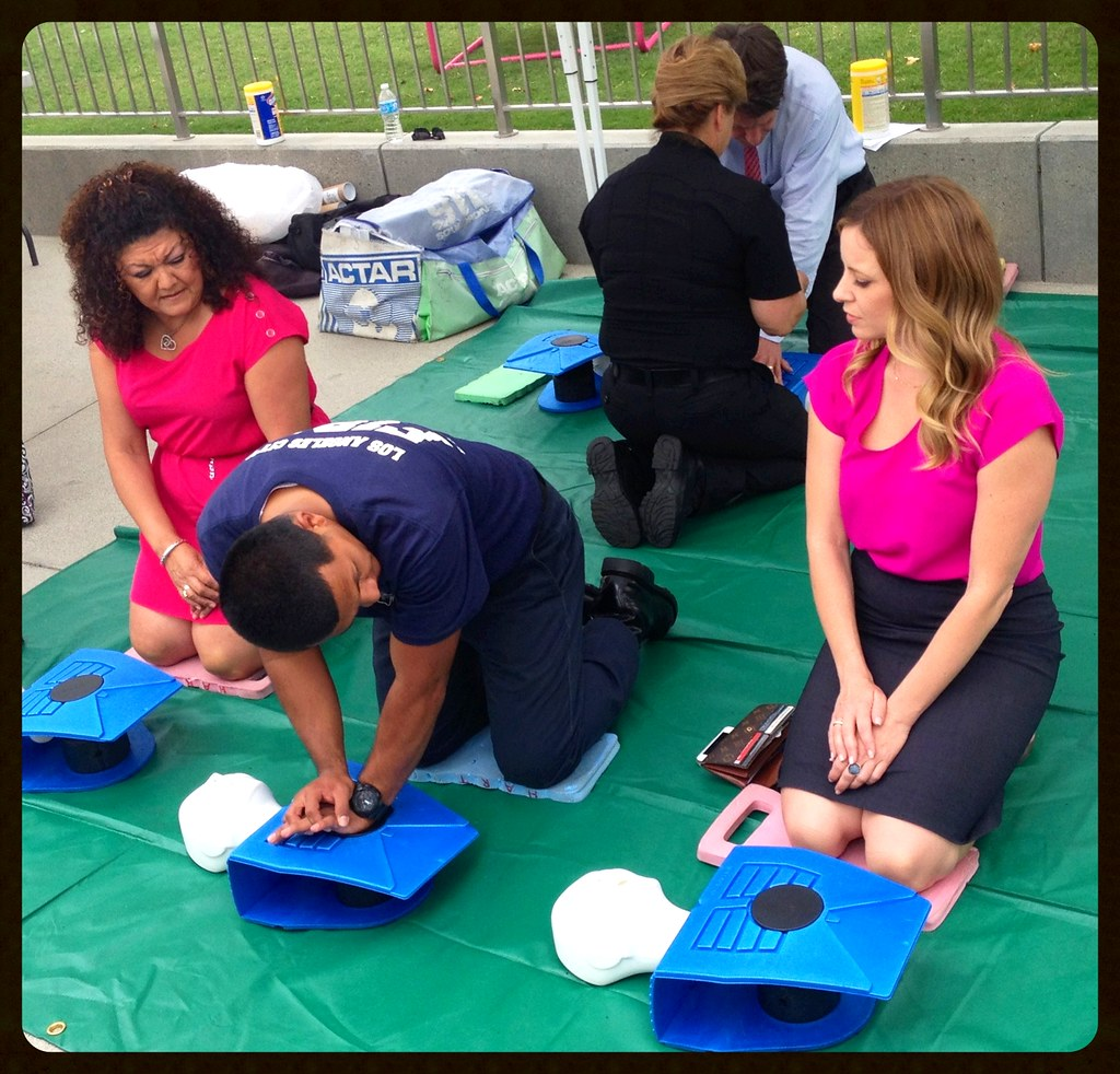 LAFD Taught Hundreds Hands-Only-CPR In One Day