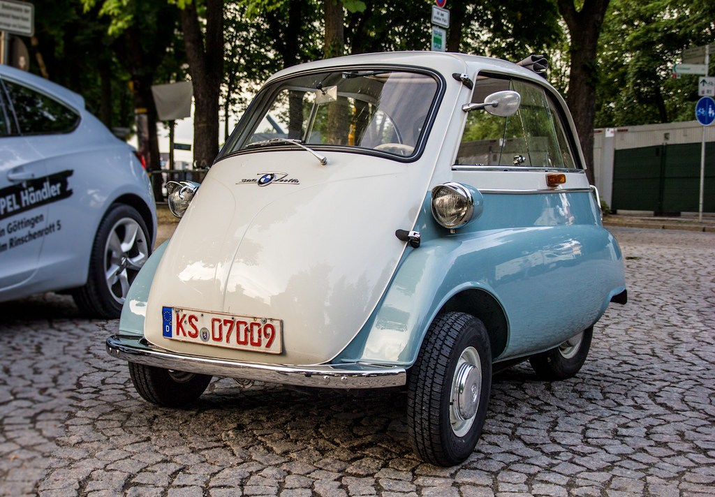 oldtimer kassel bmw isetta koss flickr. Black Bedroom Furniture Sets. Home Design Ideas