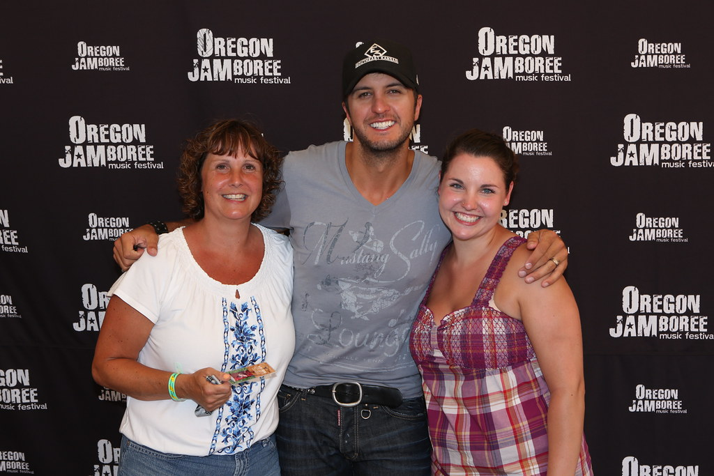 Luke bryan meet and greet oregonjamboree flickr luke bryan by oregonjamboree m4hsunfo