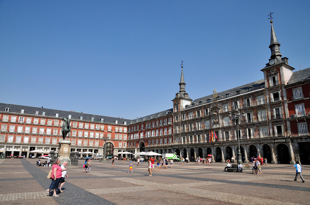 Plaza Mayor  Plaza Mayor is one of the major public squares…  Flickr