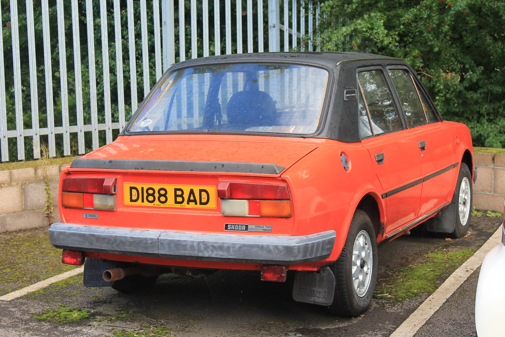 1986 Skoda Estelle Two 130 Lse 5 Speed Rare What A