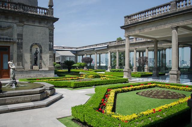 Chapultepec Castle Gardens Mexico