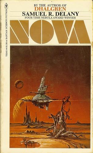 Nova - Samuel R. Delany - cover artist Eddie Jones