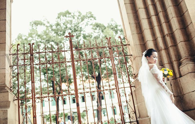 Ảnh cưới đẹp Sài Gòn - Sơn * My