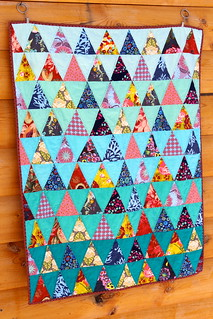 Triangle Baby Quilt | by CoraQuilts~Carla