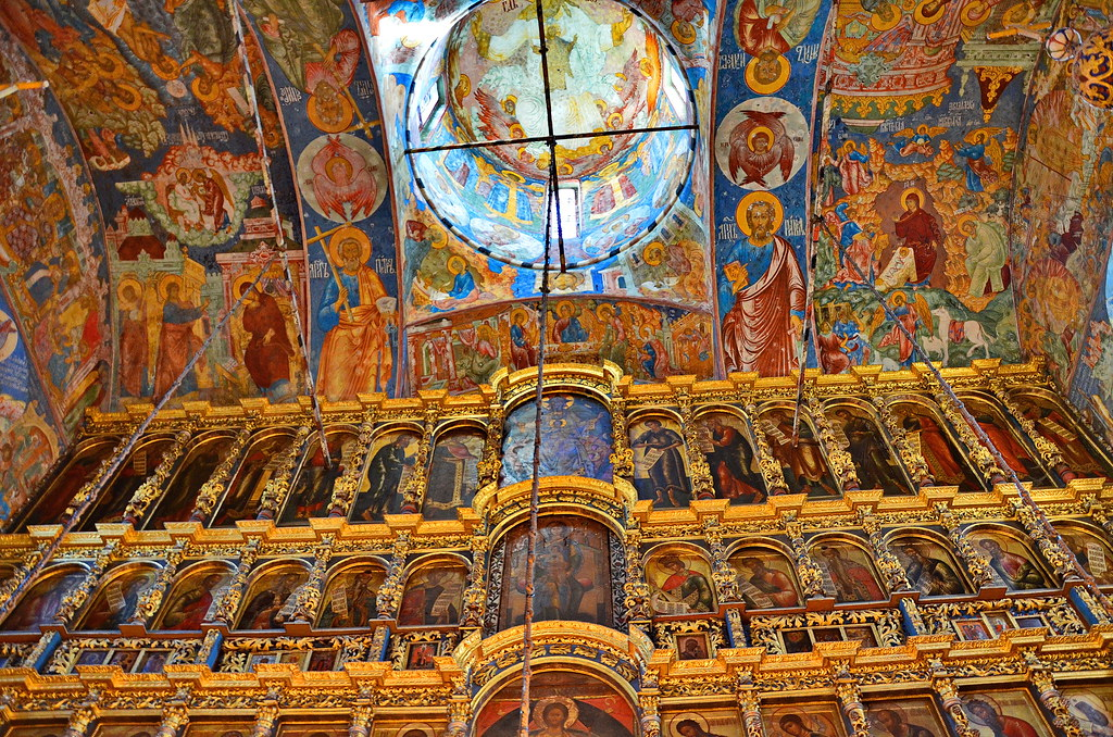 iconostasis iconostasis church of elijah the prophet yaroslavl flickr