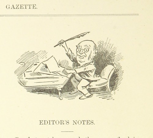 "Image taken from page 38 of 'The Massilia Gazette ... Reproduction of a newspaper published weekly on board the ... ""Massilia"" ... during a voyage from London to Sydney, Nov. 13th, 1890 to Jan. 1st, 1891. Edited by Edward Noyes' 
