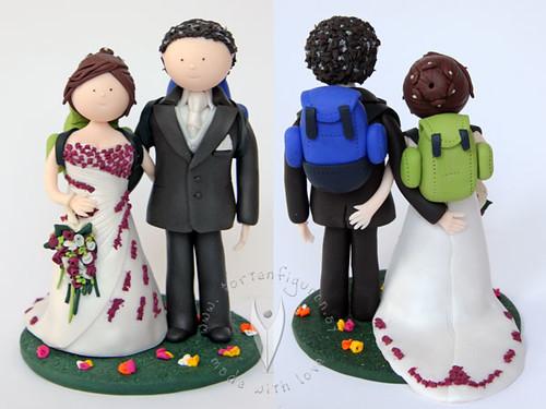 ... Brautpaar  by ♥ Tortenfiguren.at ♥ Hochzeitstortenfiguren